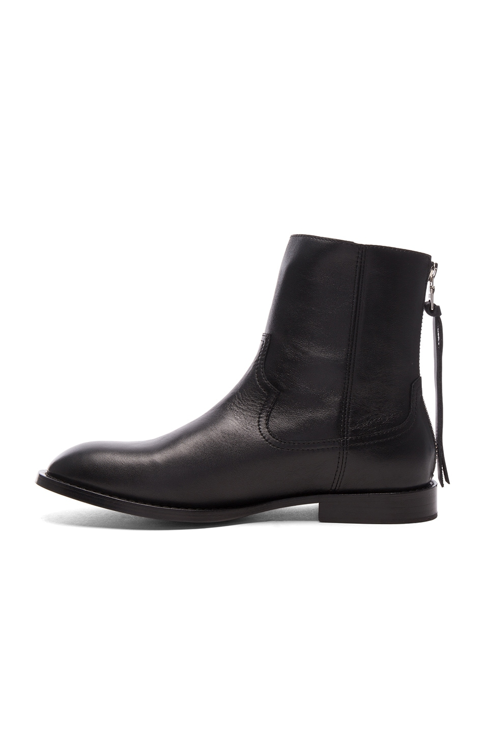Image 5 of Amiri Leather Shane Boots in Black Leather
