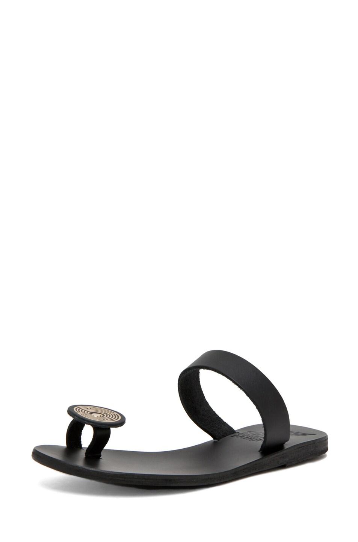 Image 2 of Ancient Greek Sandals Andromeda in Black
