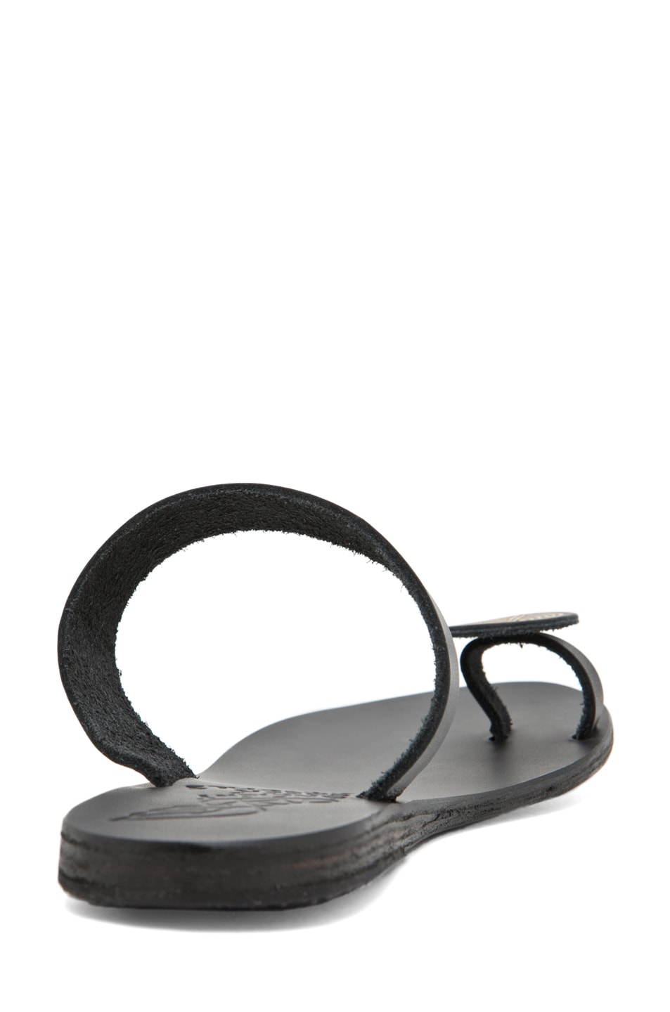 Image 3 of Ancient Greek Sandals Andromeda in Black