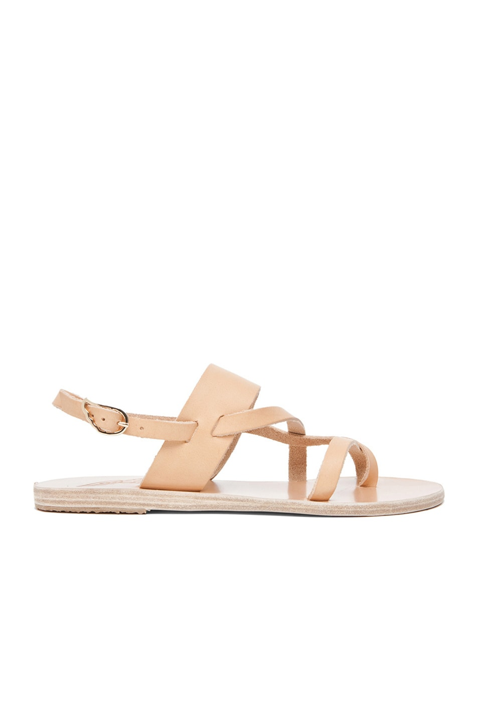 Image 1 of Ancient Greek Sandals Alethea Calfskin Leather Sandals in Natural