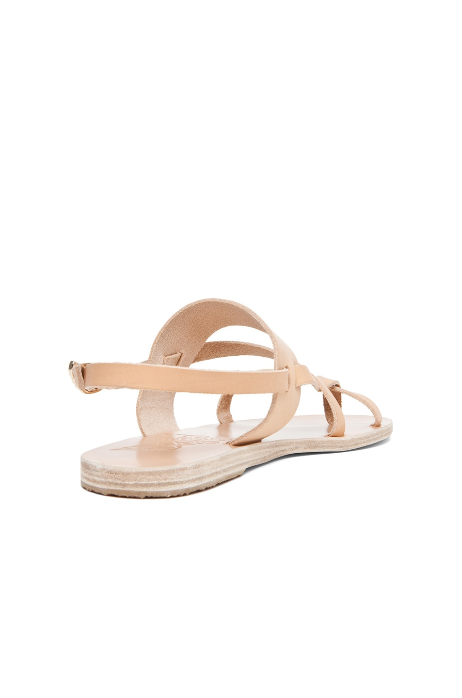 Image 3 of Ancient Greek Sandals Alethea Calfskin Leather Sandals in Natural