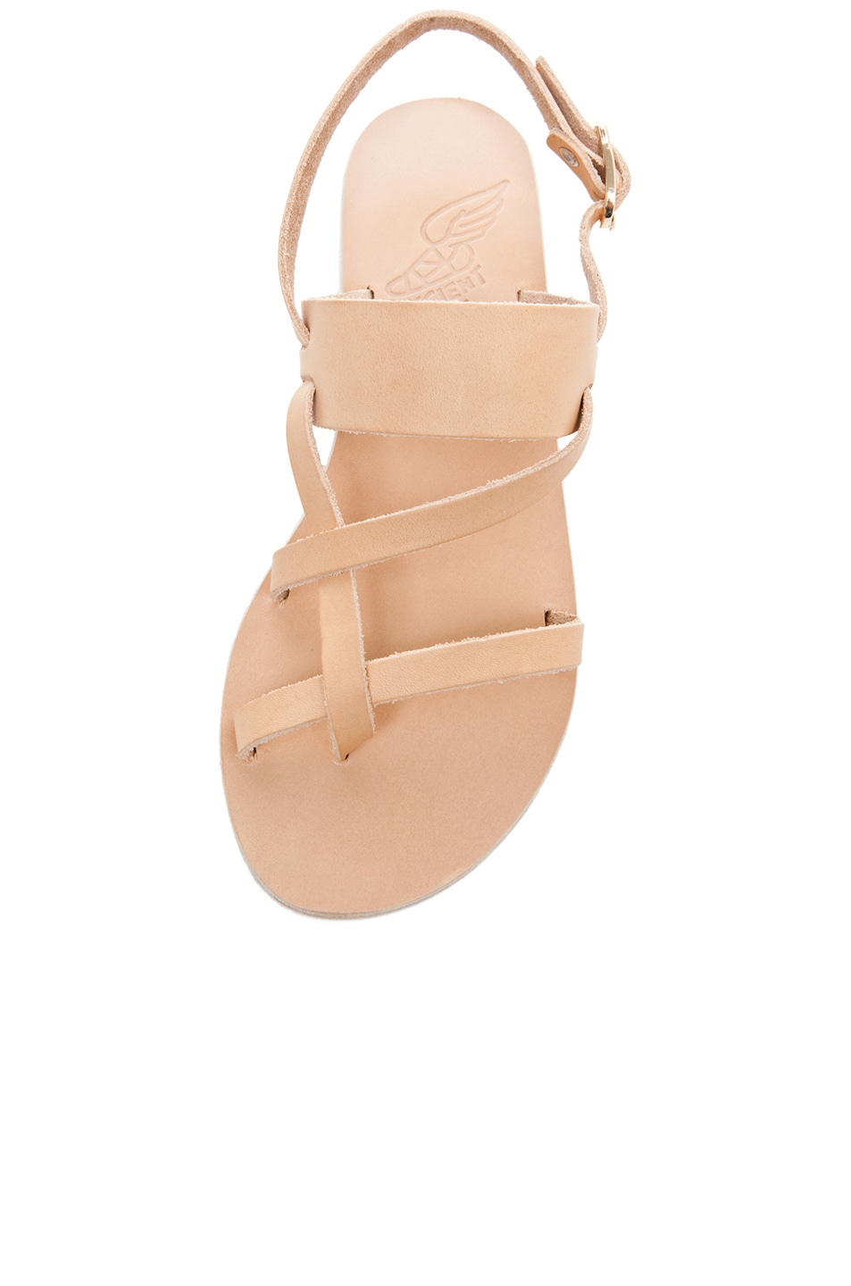 Image 4 of Ancient Greek Sandals Alethea Calfskin Leather Sandals in Natural