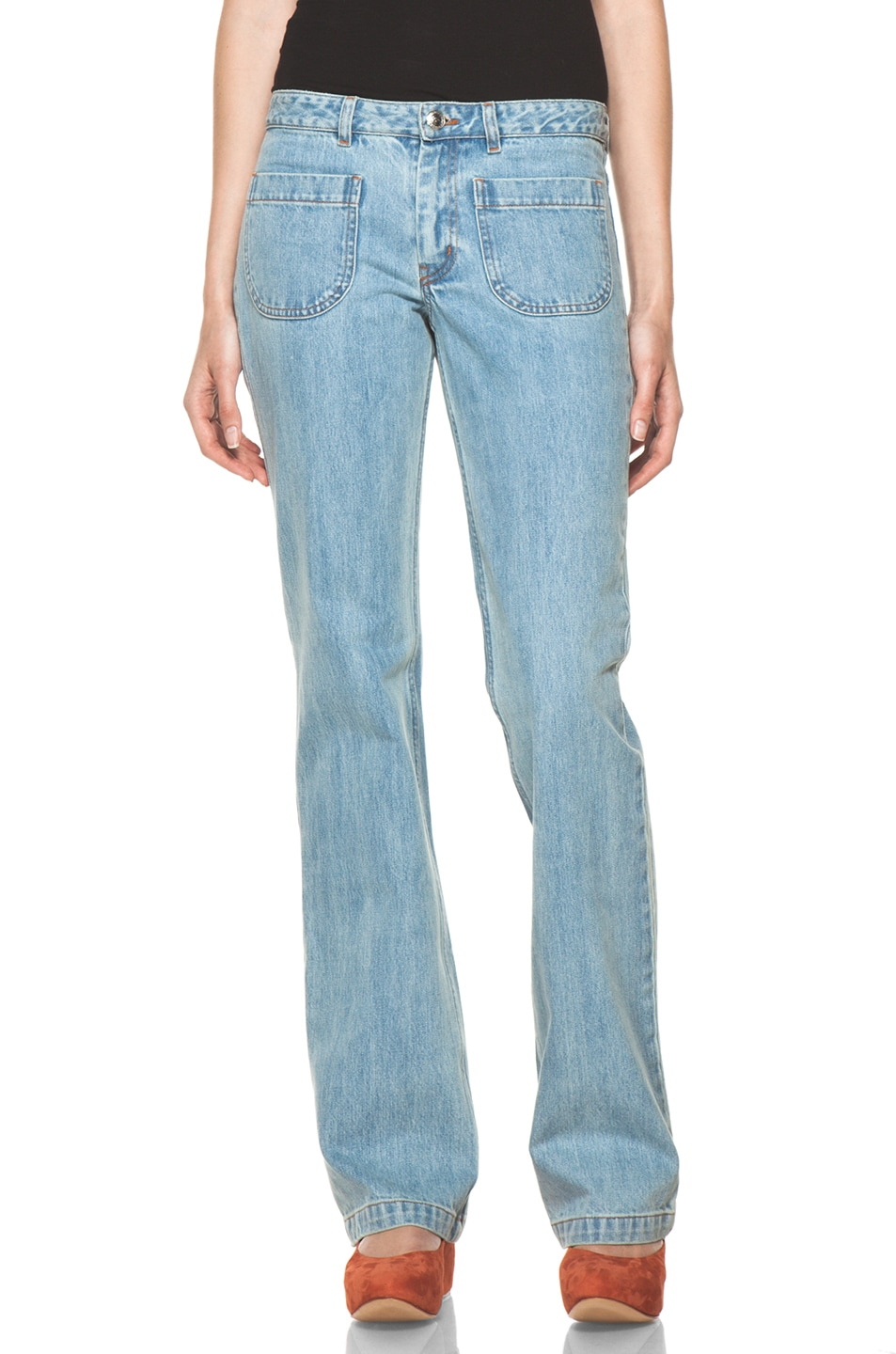 Image 1 of A.P.C. Denim in Indigo Clair