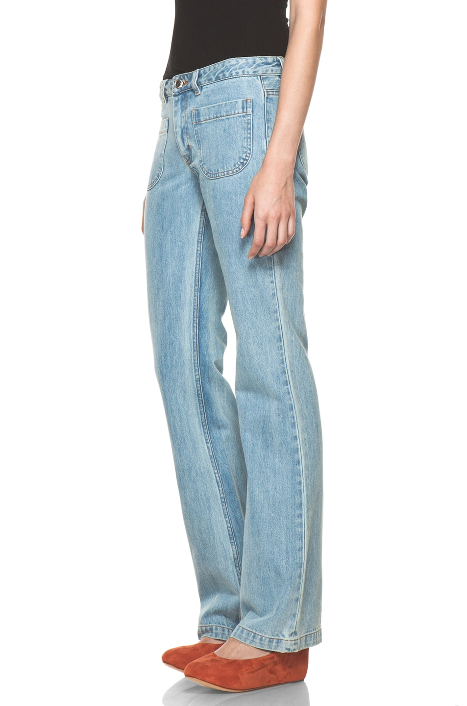 Image 2 of A.P.C. Denim in Indigo Clair