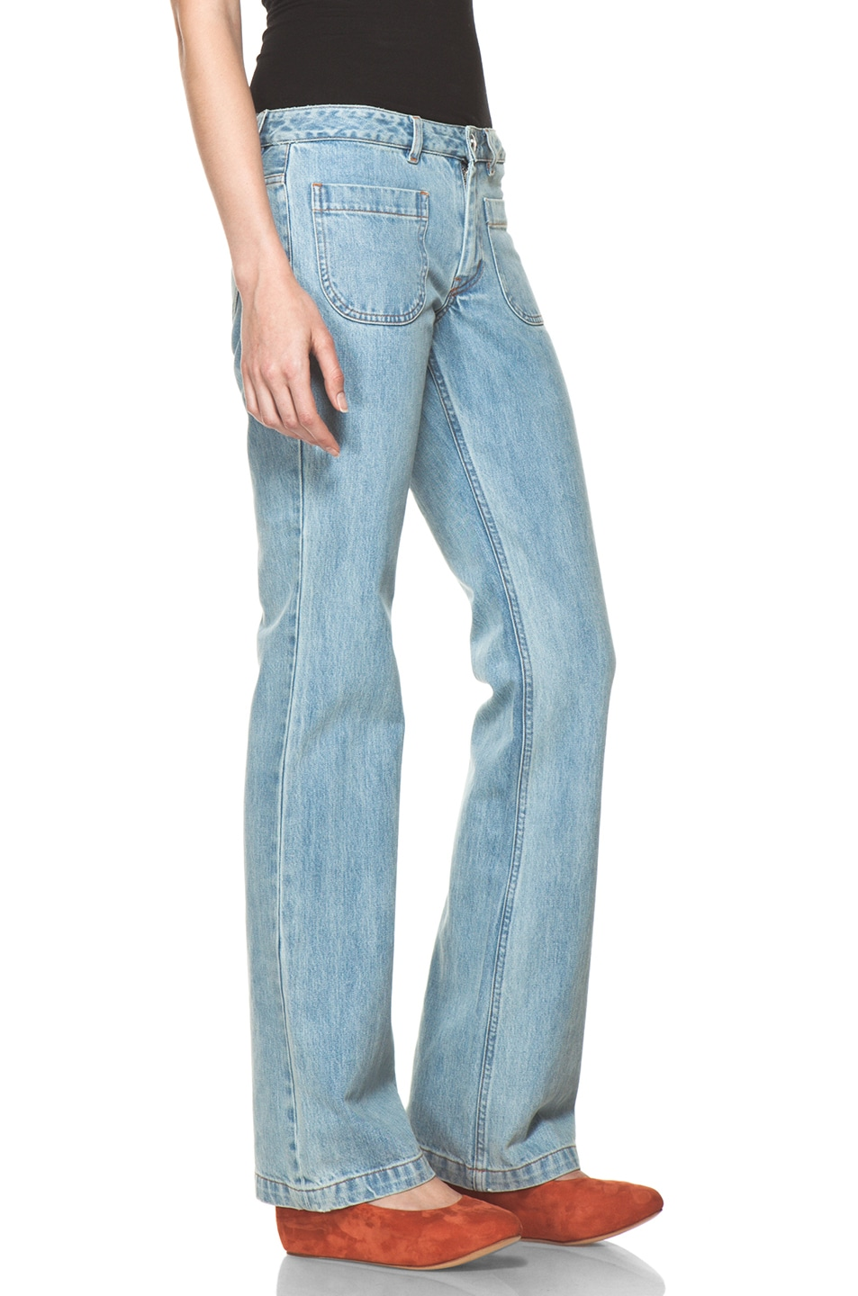 Image 3 of A.P.C. Denim in Indigo Clair