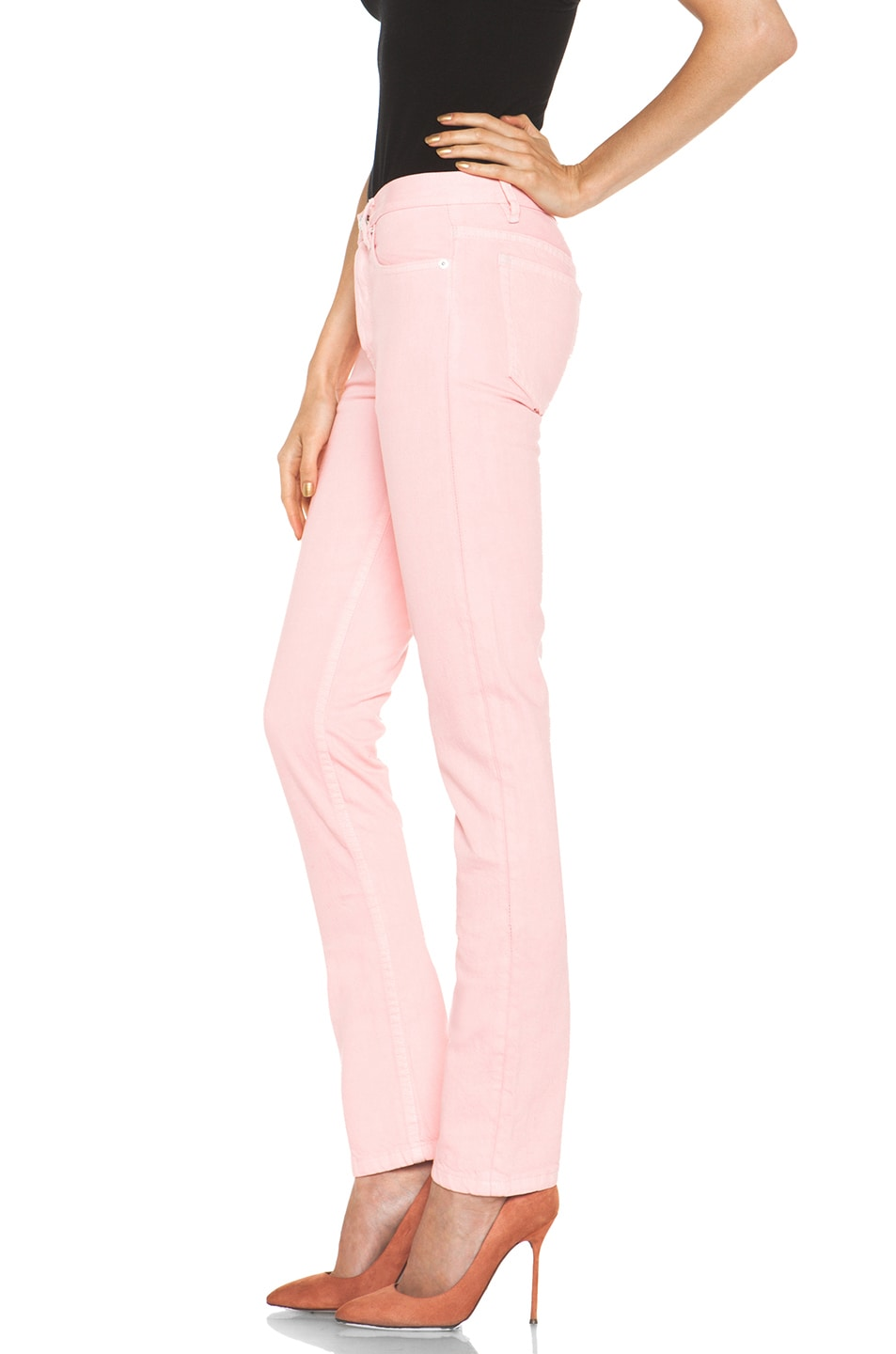 Image 2 of A.P.C. Petit Standard Jean in Rose