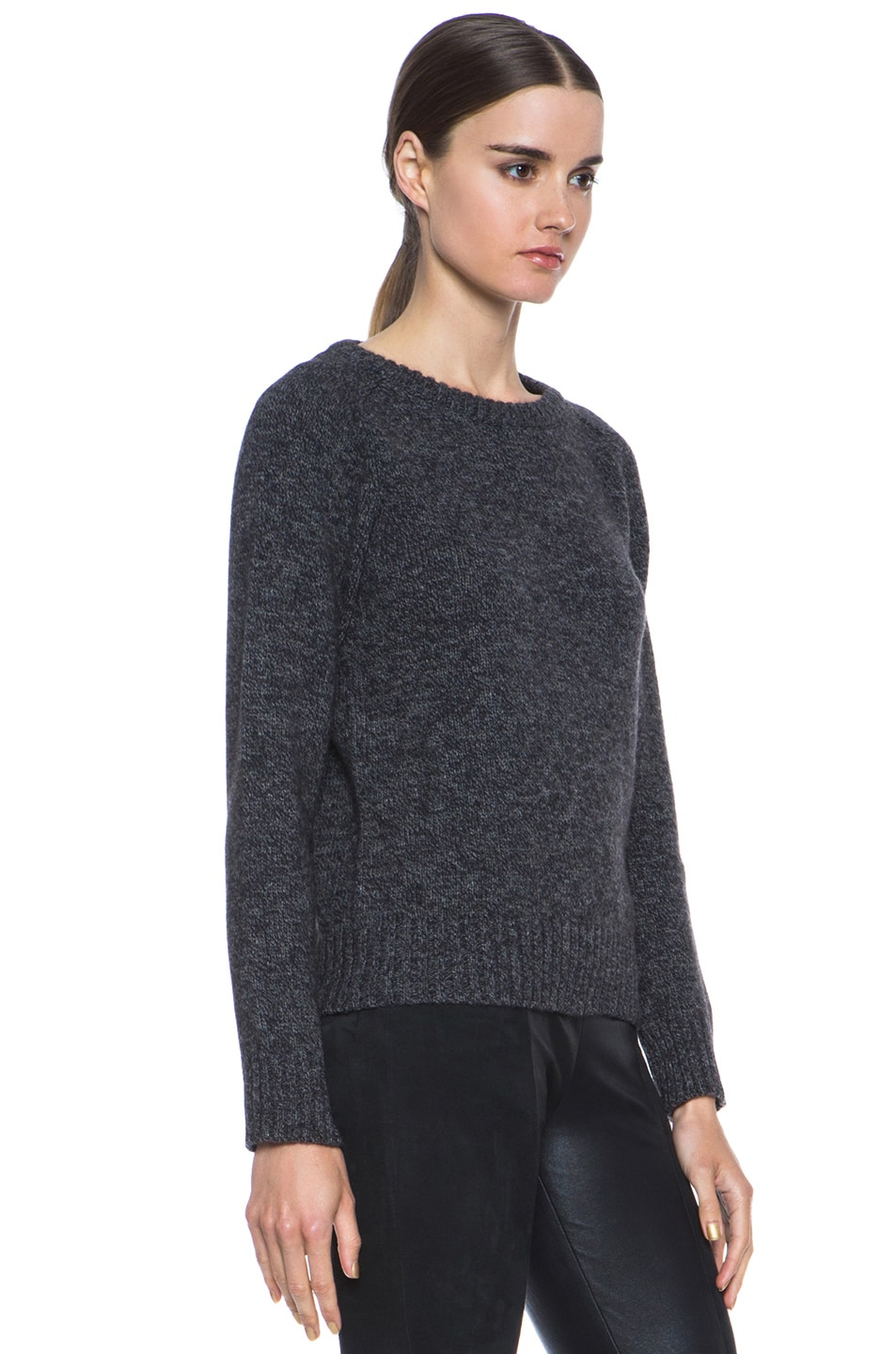 Image 3 of A.P.C. Merino Wool Pullover in Anthracite