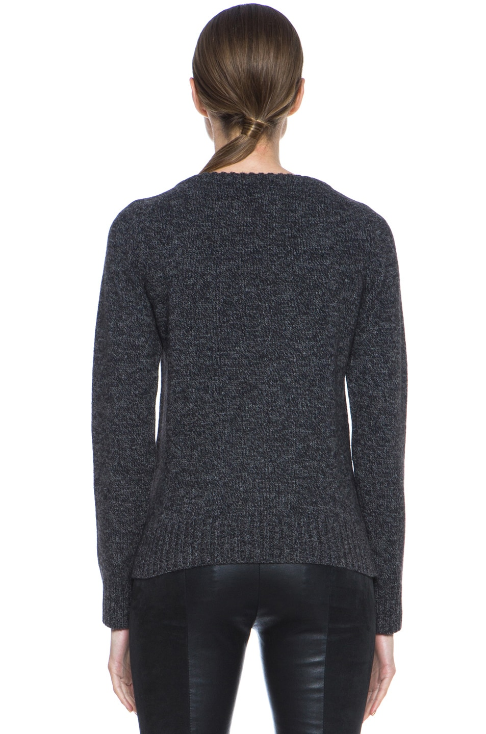 Image 4 of A.P.C. Merino Wool Pullover in Anthracite