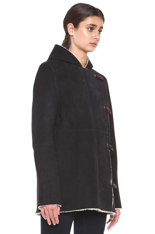 Image 4 of A.P.C. Manteau Capuche Coat in Noir