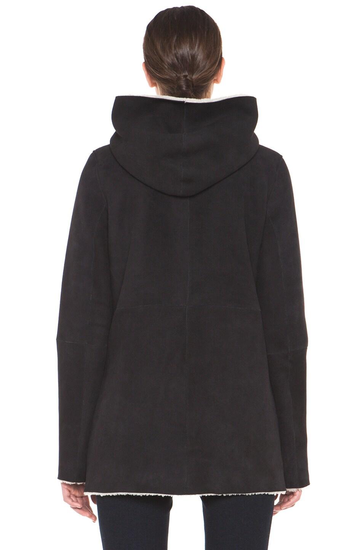 Image 5 of A.P.C. Manteau Capuche Coat in Noir