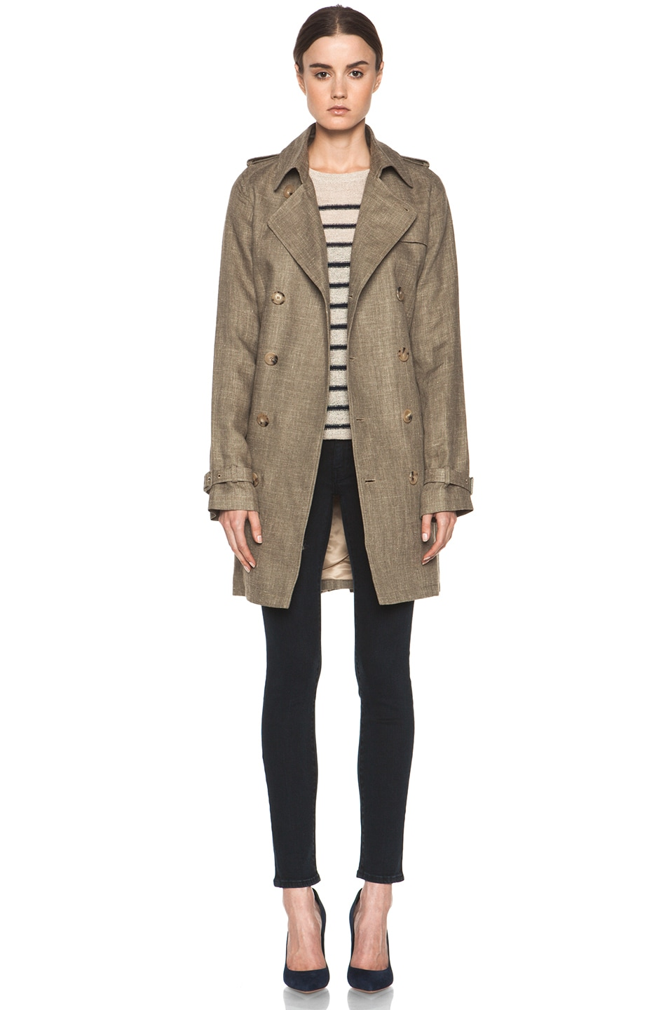 Image 1 of A.P.C. New Classic Trench in Beige