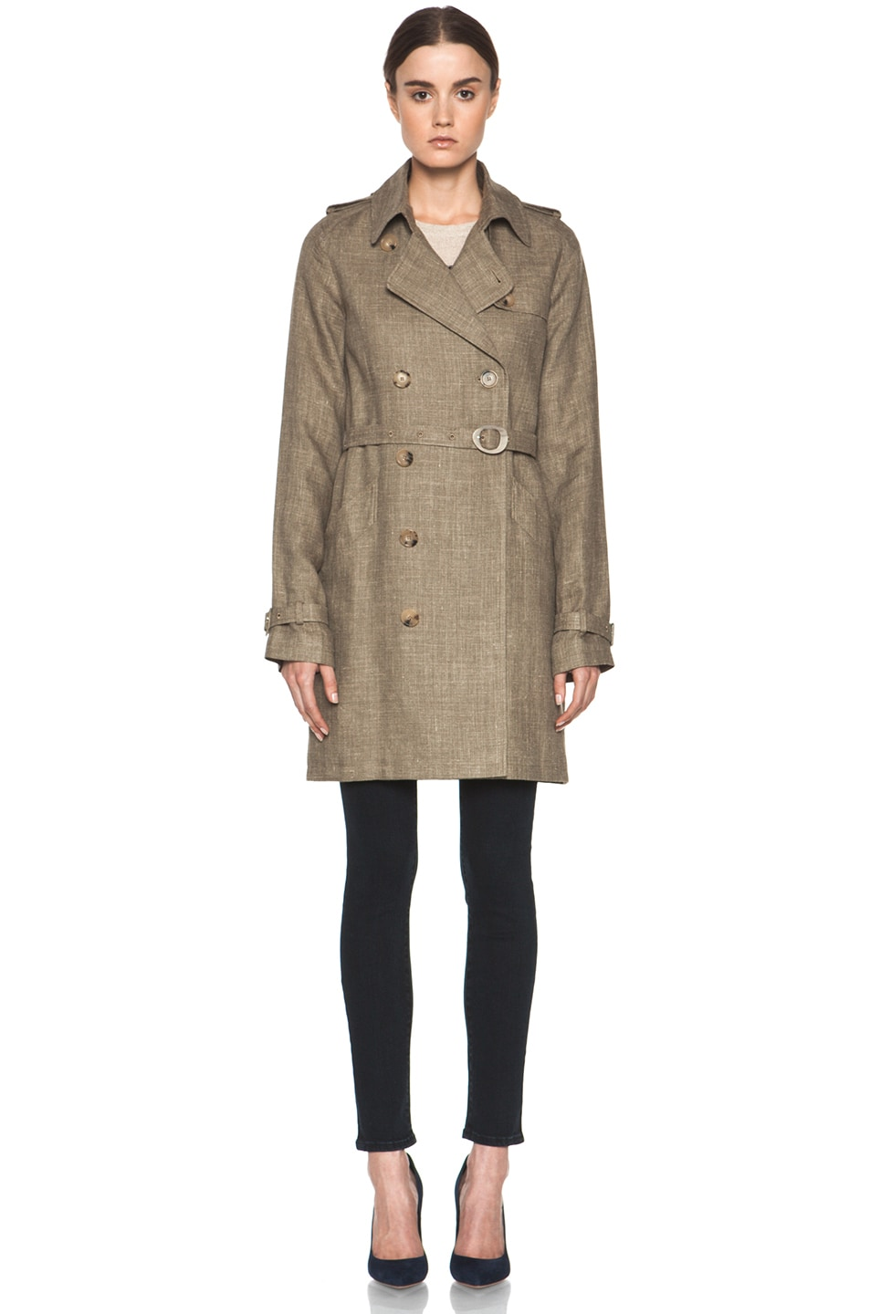 Image 2 of A.P.C. New Classic Trench in Beige