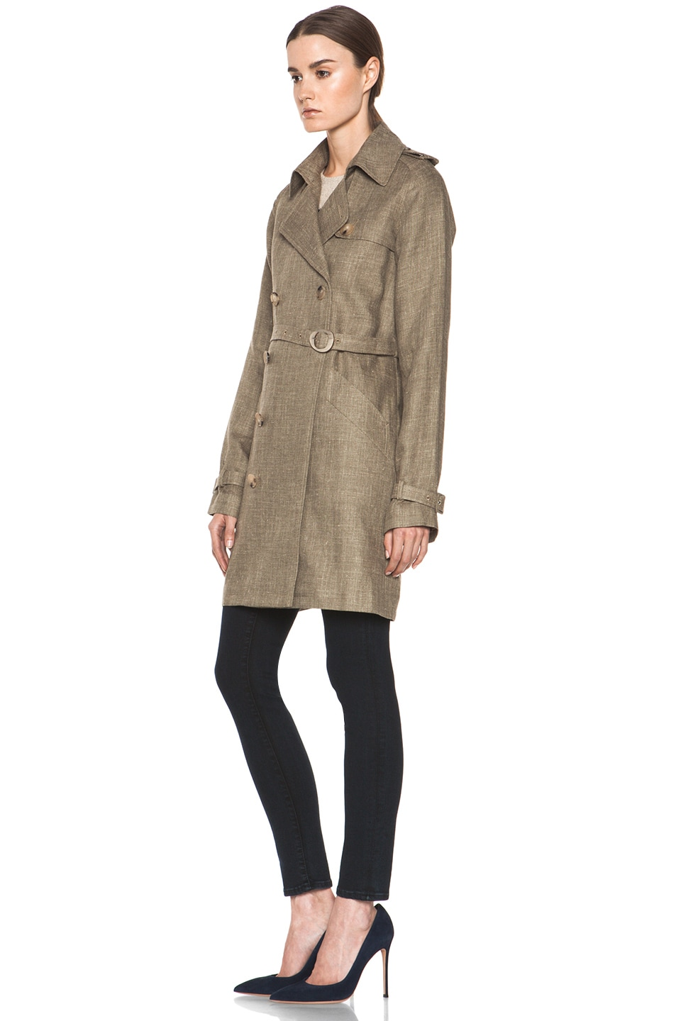 Image 3 of A.P.C. New Classic Trench in Beige