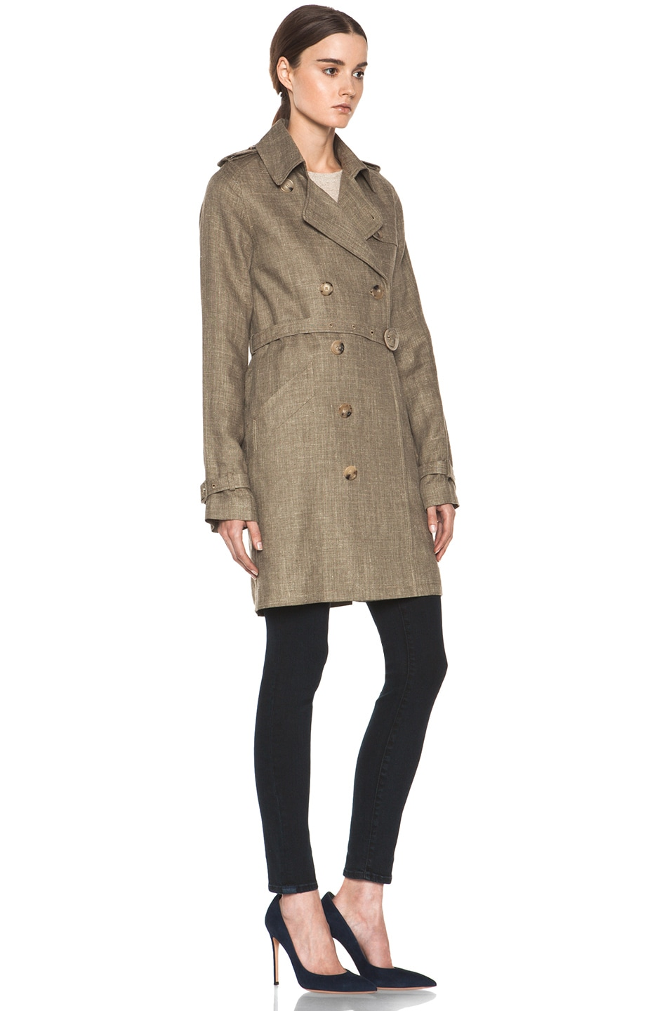 Image 4 of A.P.C. New Classic Trench in Beige