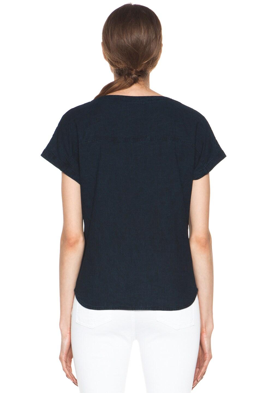 Image 4 of A.P.C. Fine Denim Shirt in Indigo