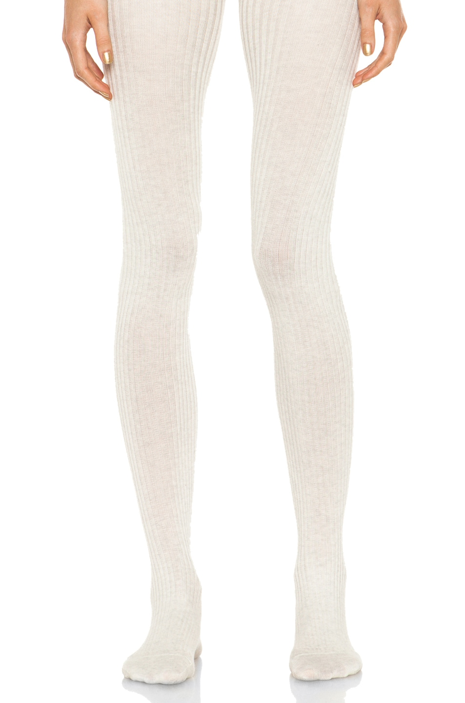 Image 1 of A.P.C. Collant Tights in Beige