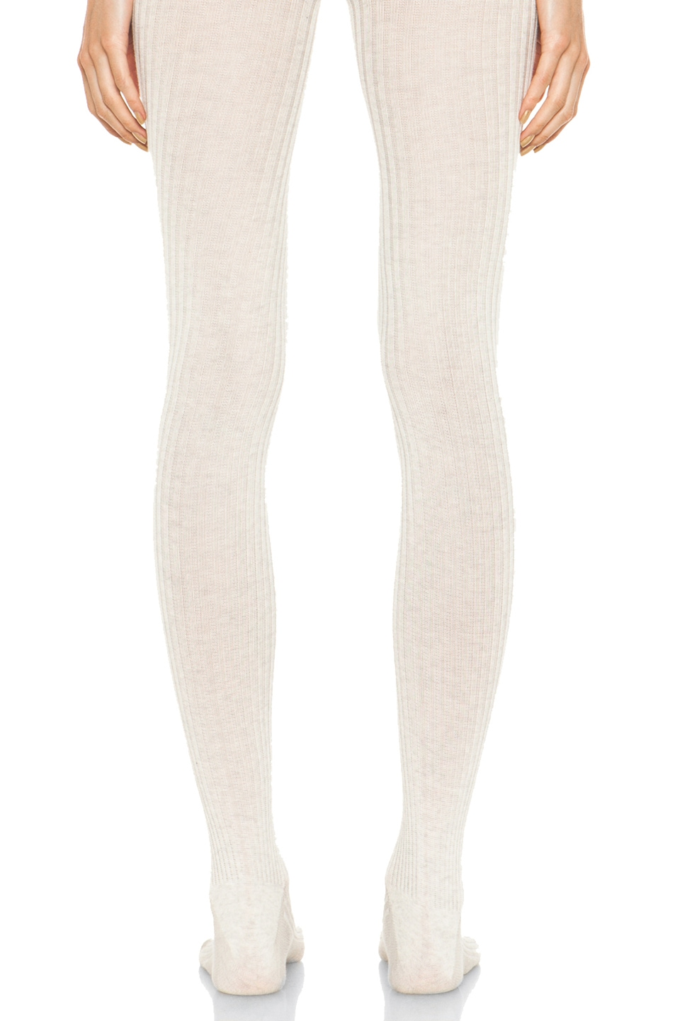 Image 4 of A.P.C. Collant Tights in Beige