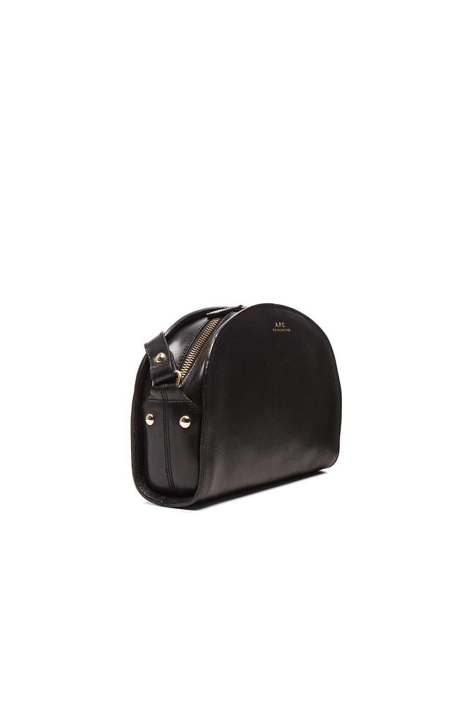 Image 4 of A.P.C. Demi Lune Bag in Black