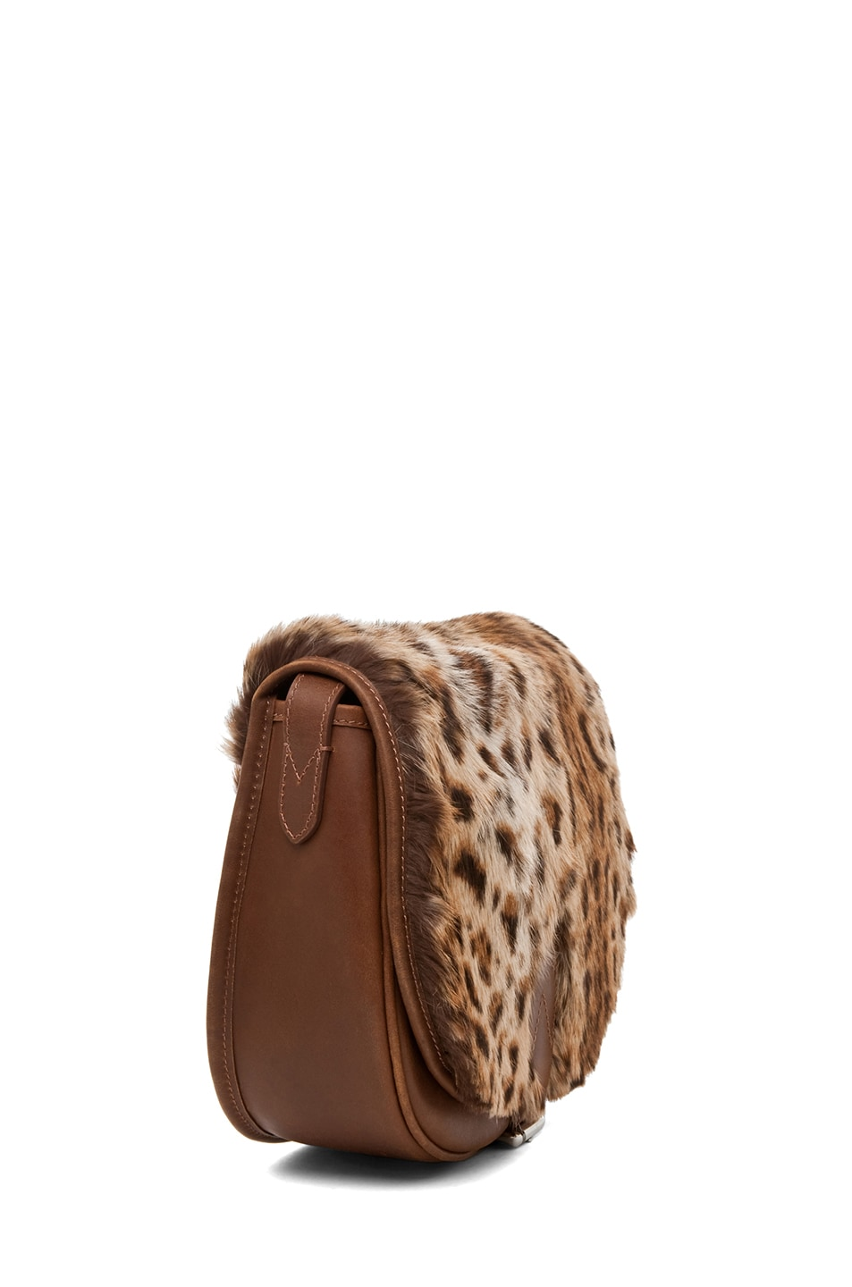 Image 3 of A.P.C. Sac Besace Leopard Bag in Caramel