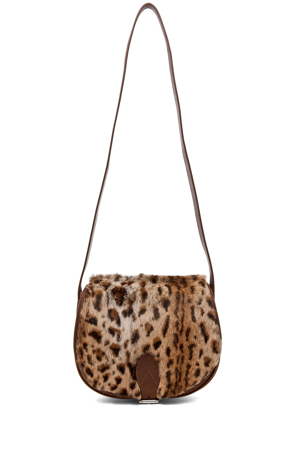 Image 6 of A.P.C. Sac Besace Leopard Bag in Caramel