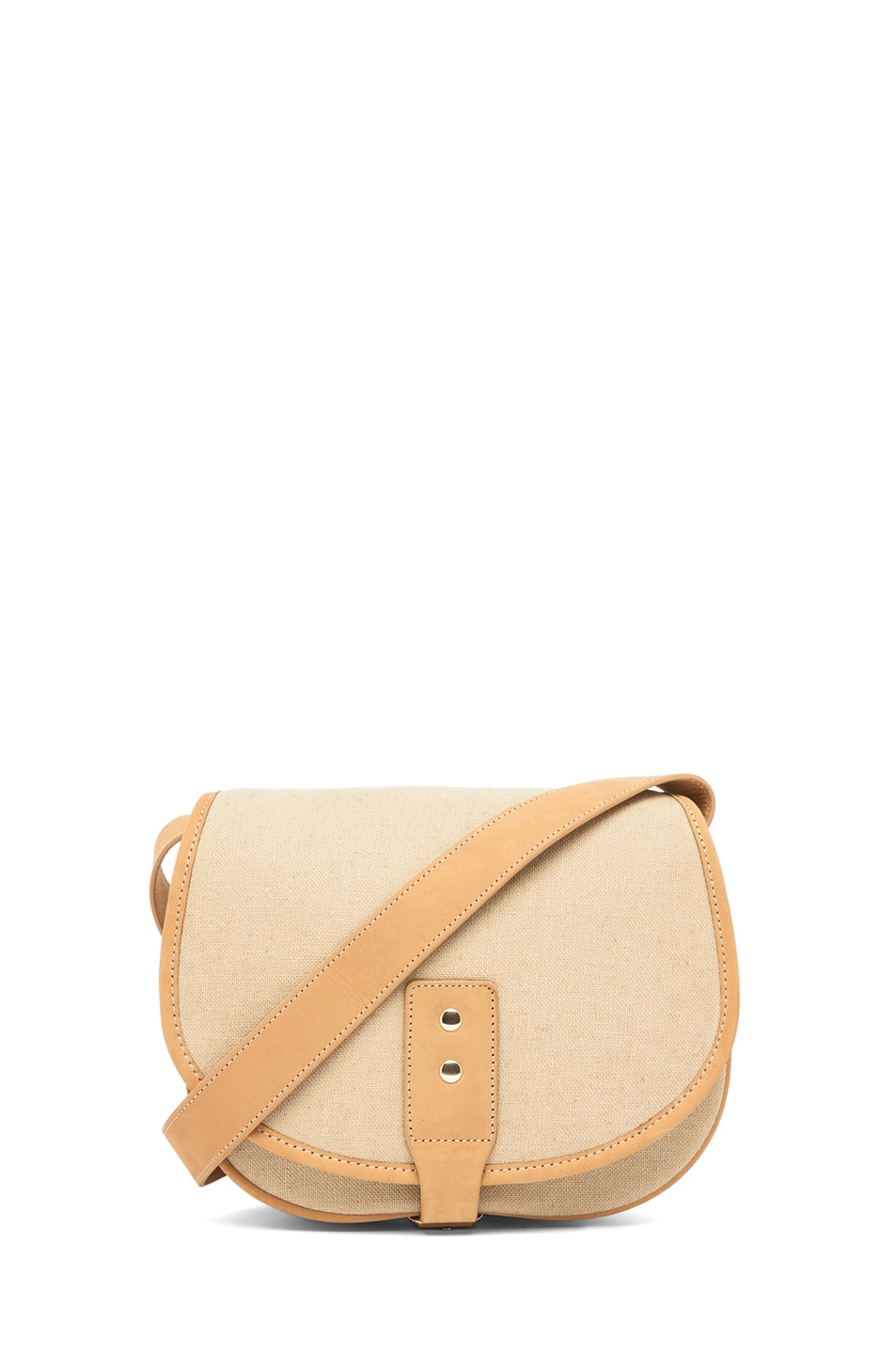 Image 1 of A.P.C. Toile Coton Sac Besace in Beige