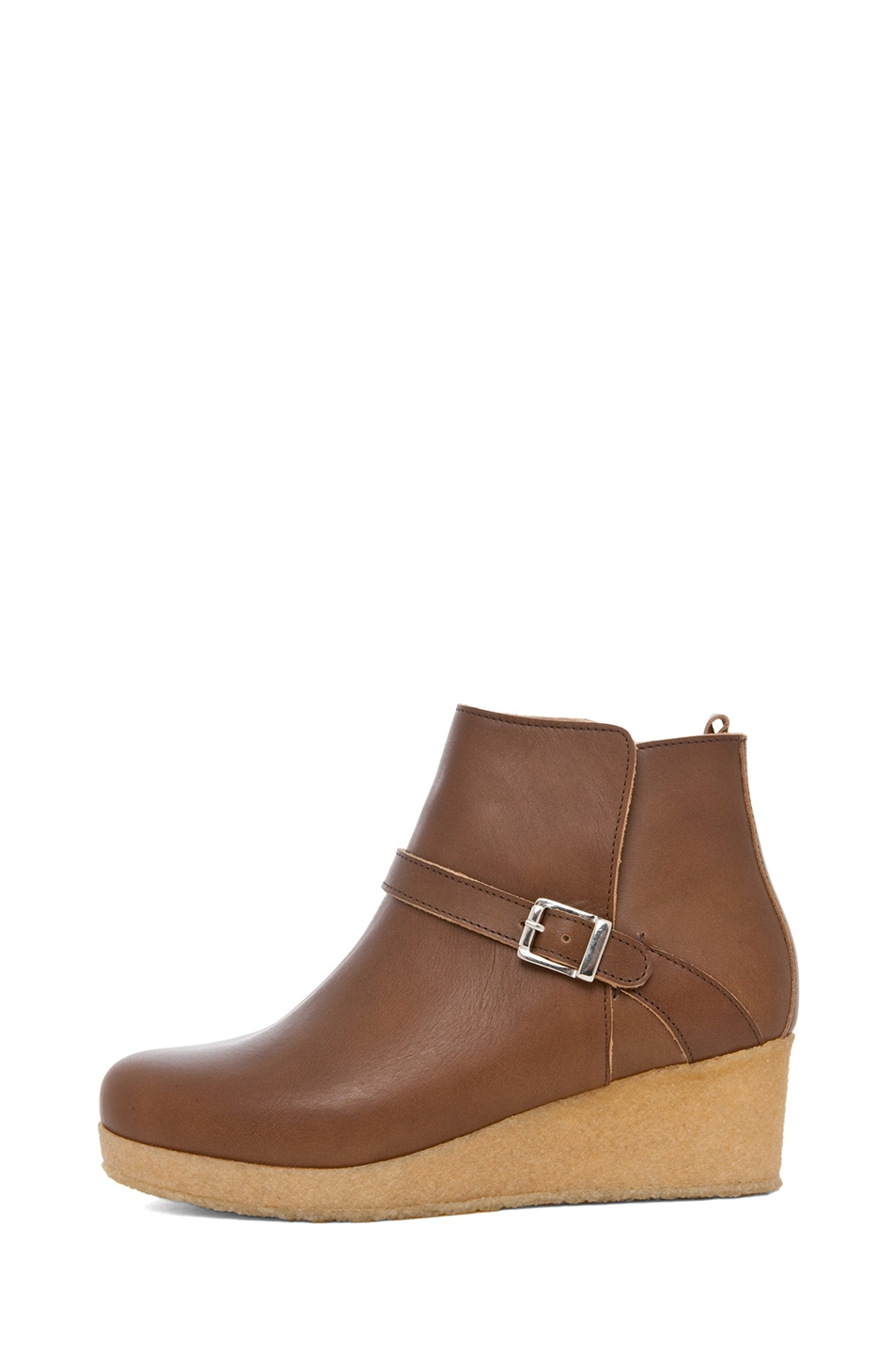 Image 1 of A.P.C. Boots Basse in Noisette