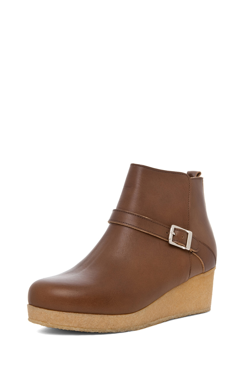 Image 2 of A.P.C. Boots Basse in Noisette