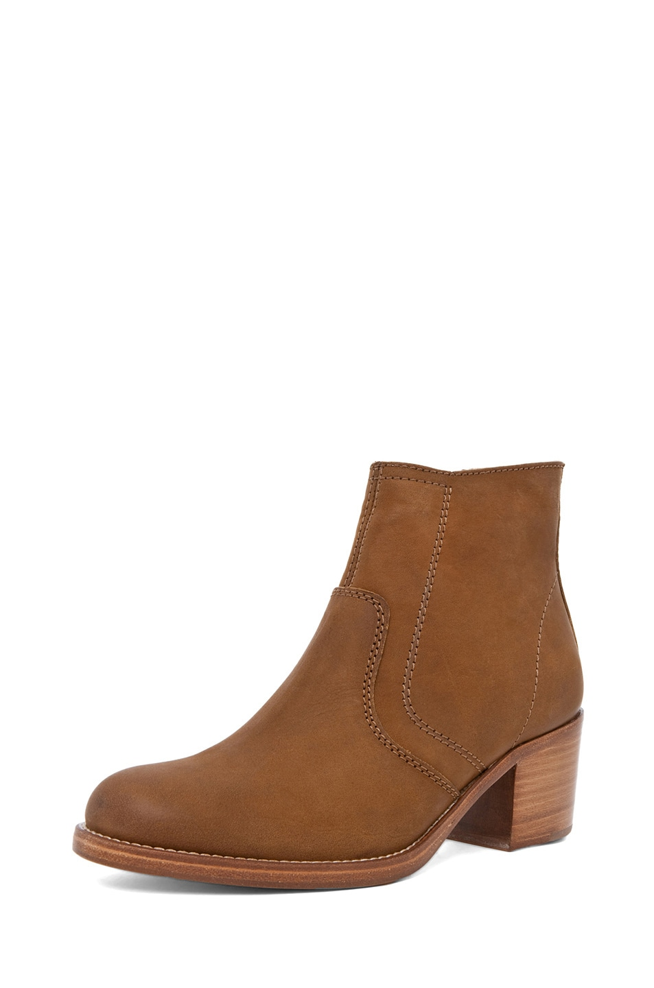 Image 2 of A.P.C. Camarguaise Boot in Caramel