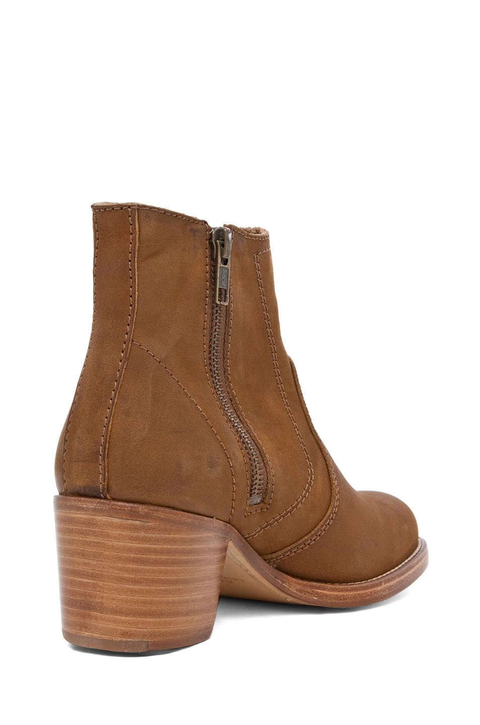 Image 3 of A.P.C. Camarguaise Boot in Caramel