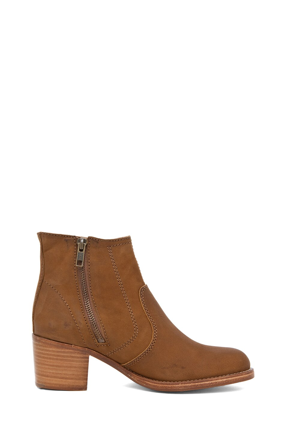 Image 5 of A.P.C. Camarguaise Boot in Caramel