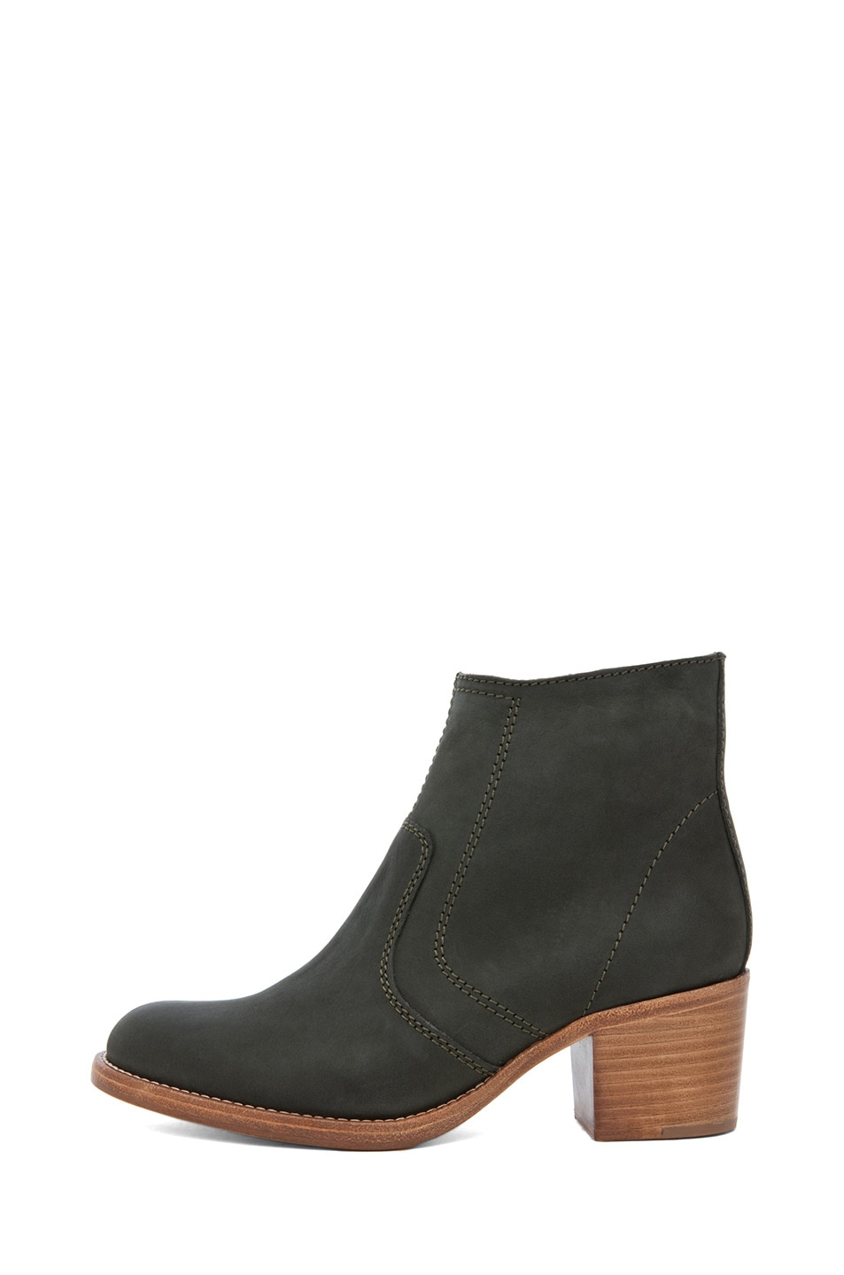 Image 1 of A.P.C. Camarguaise Boot in Vert Fonce
