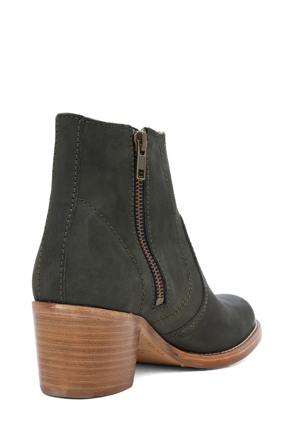 Image 3 of A.P.C. Camarguaise Boot in Vert Fonce