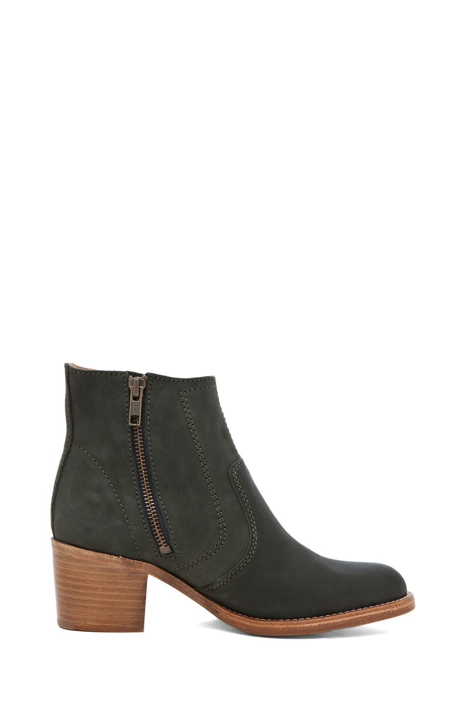Image 5 of A.P.C. Camarguaise Boot in Vert Fonce