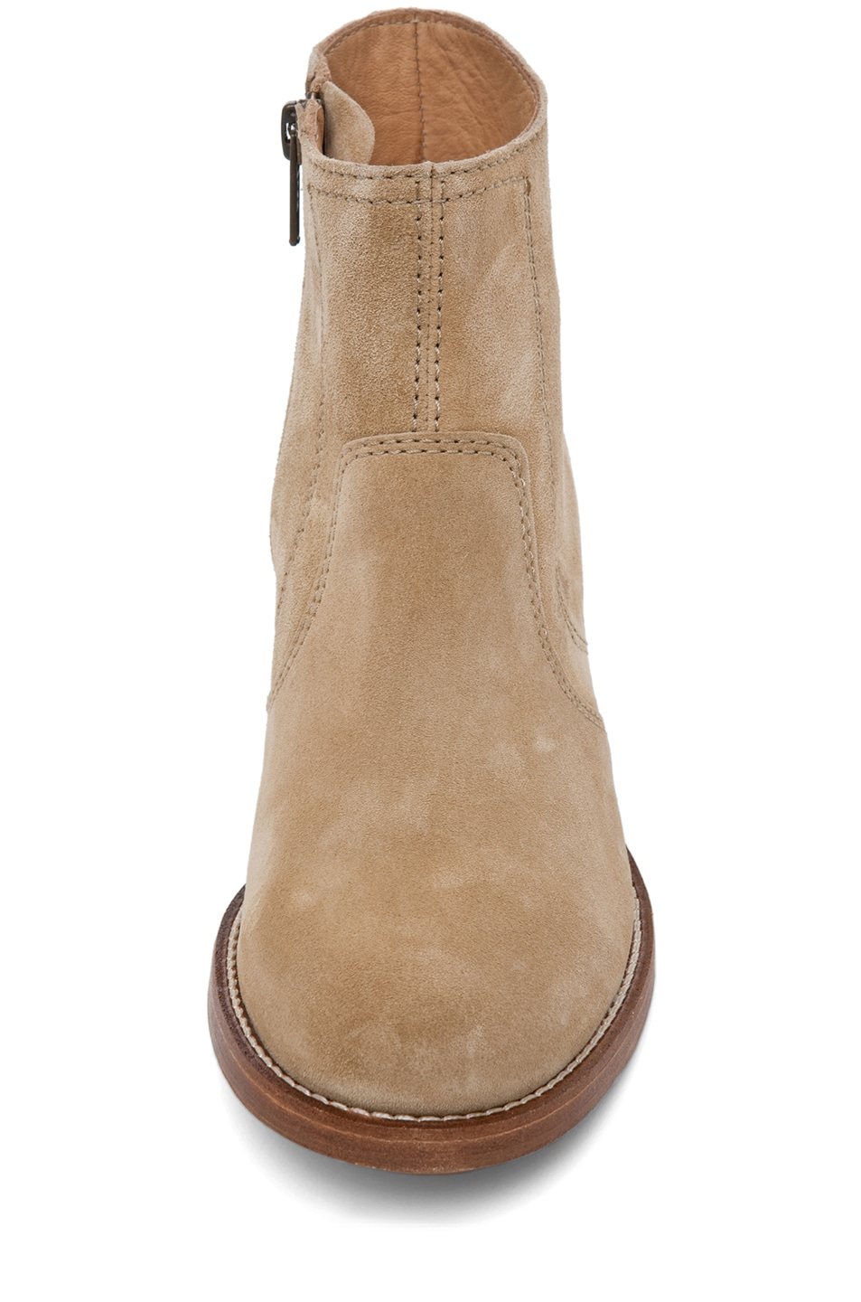 Image 4 of A.P.C. Camarguaise Bootie in Beige