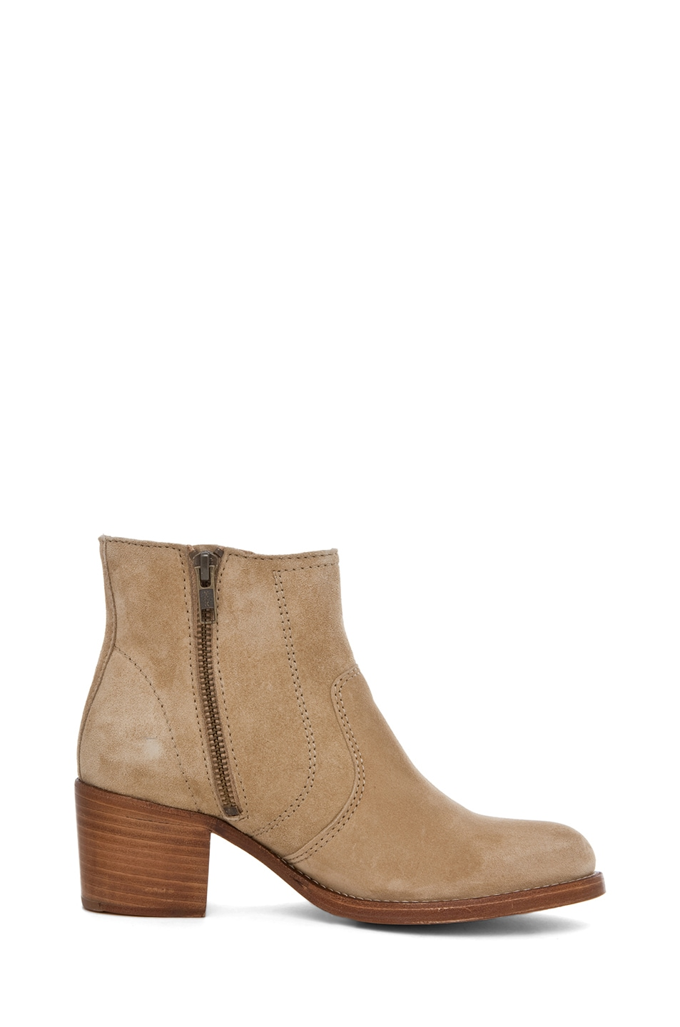 Image 5 of A.P.C. Camarguaise Bootie in Beige