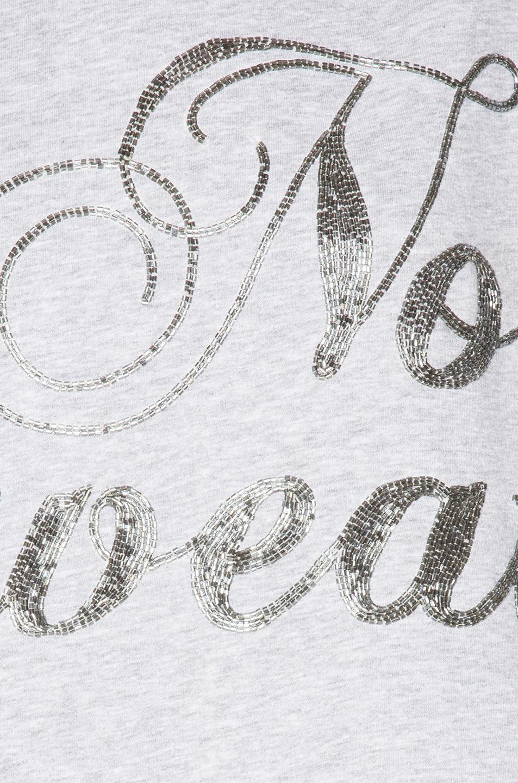 Image 5 of Ashish Swirly No Sweat Sweatshirt Dress in Grey