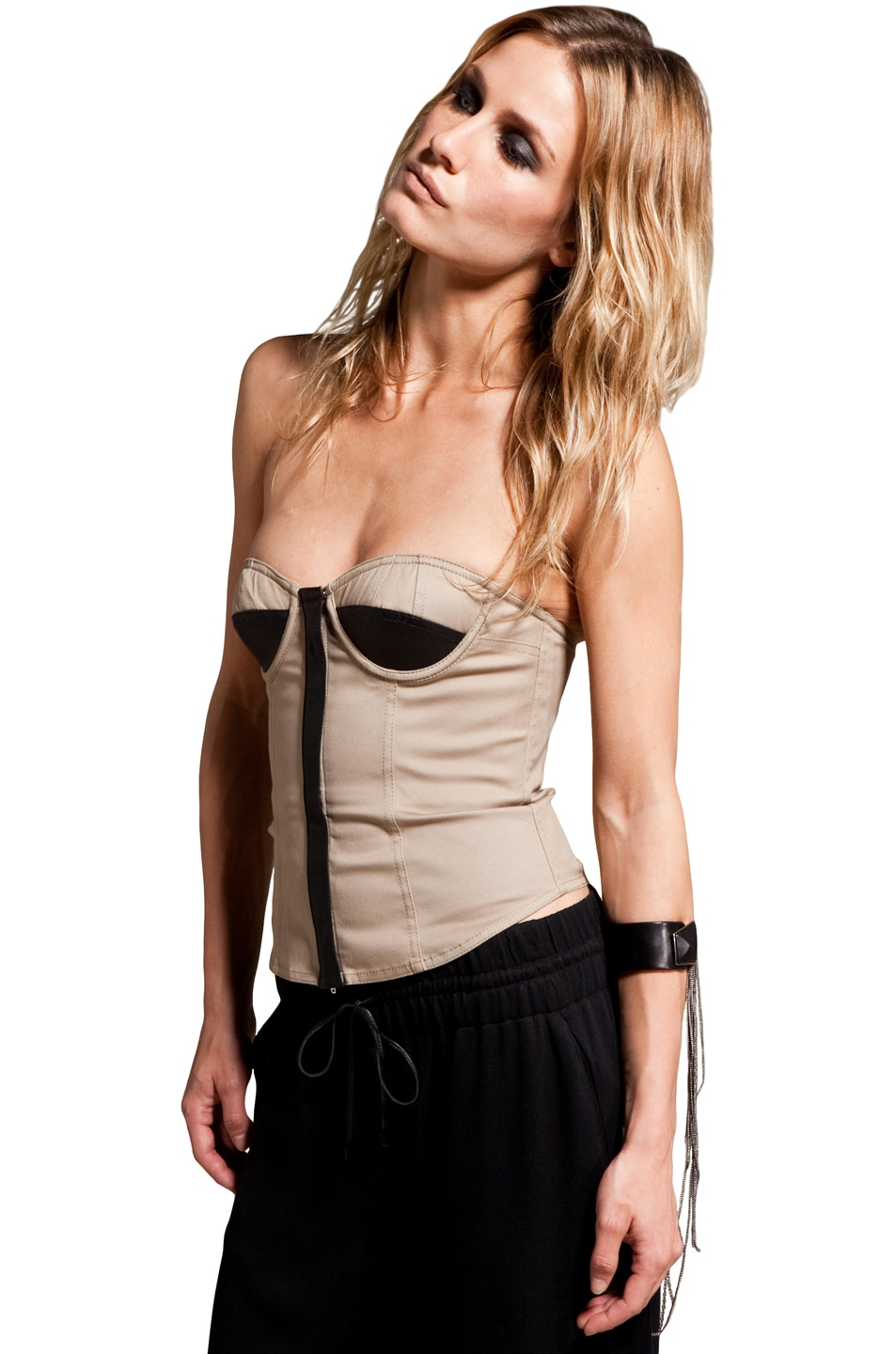 Image 2 of Alexander Wang Bustier in Trench