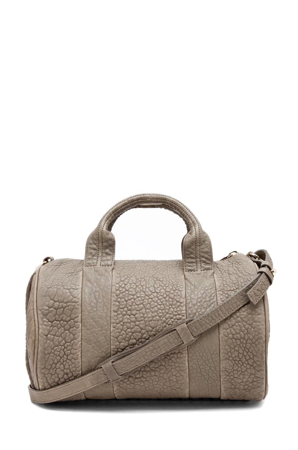 Image 1 of Alexander Wang Rocco Satchel in Granite
