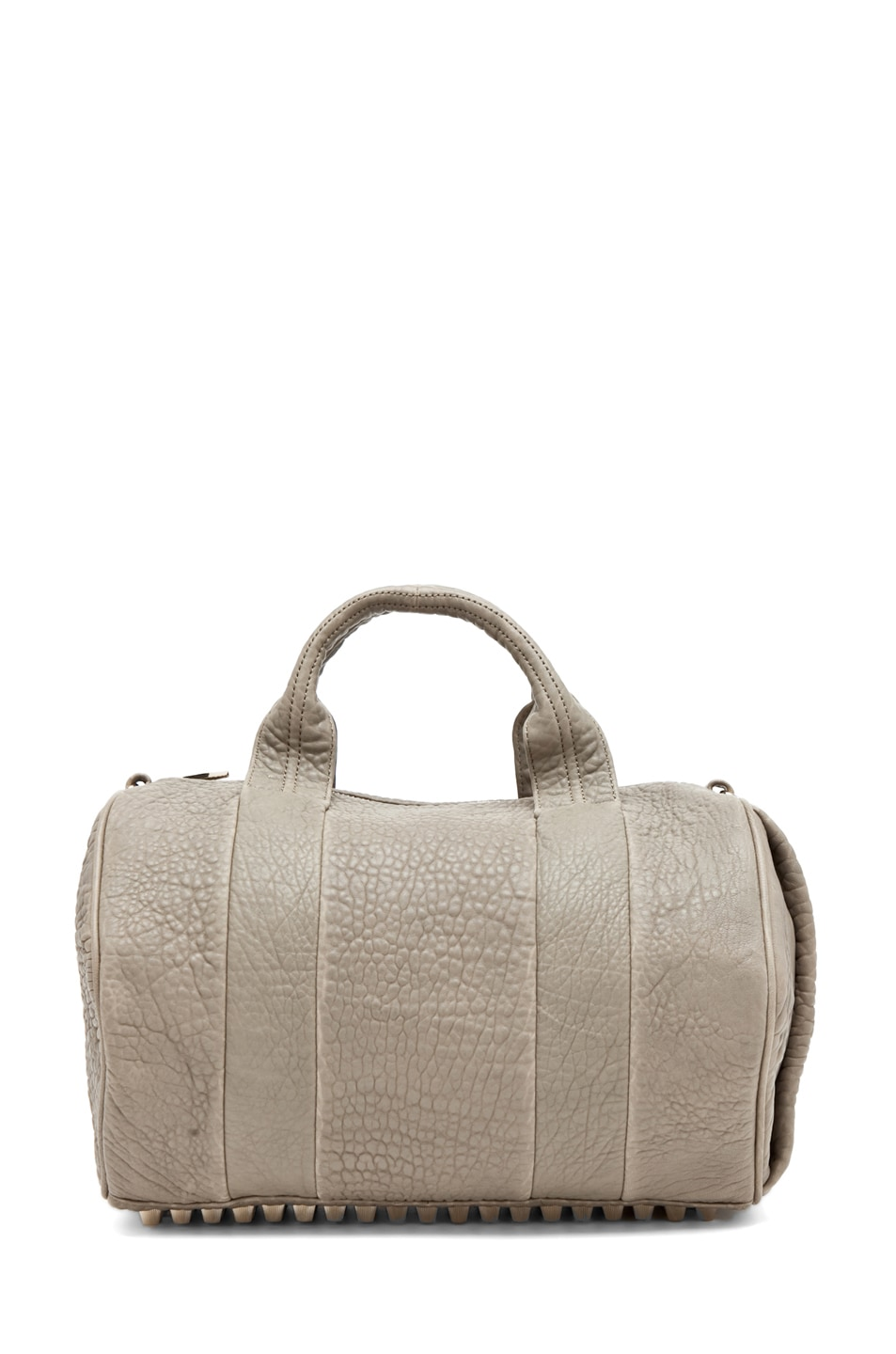 Image 5 of Alexander Wang Rocco Satchel in Granite