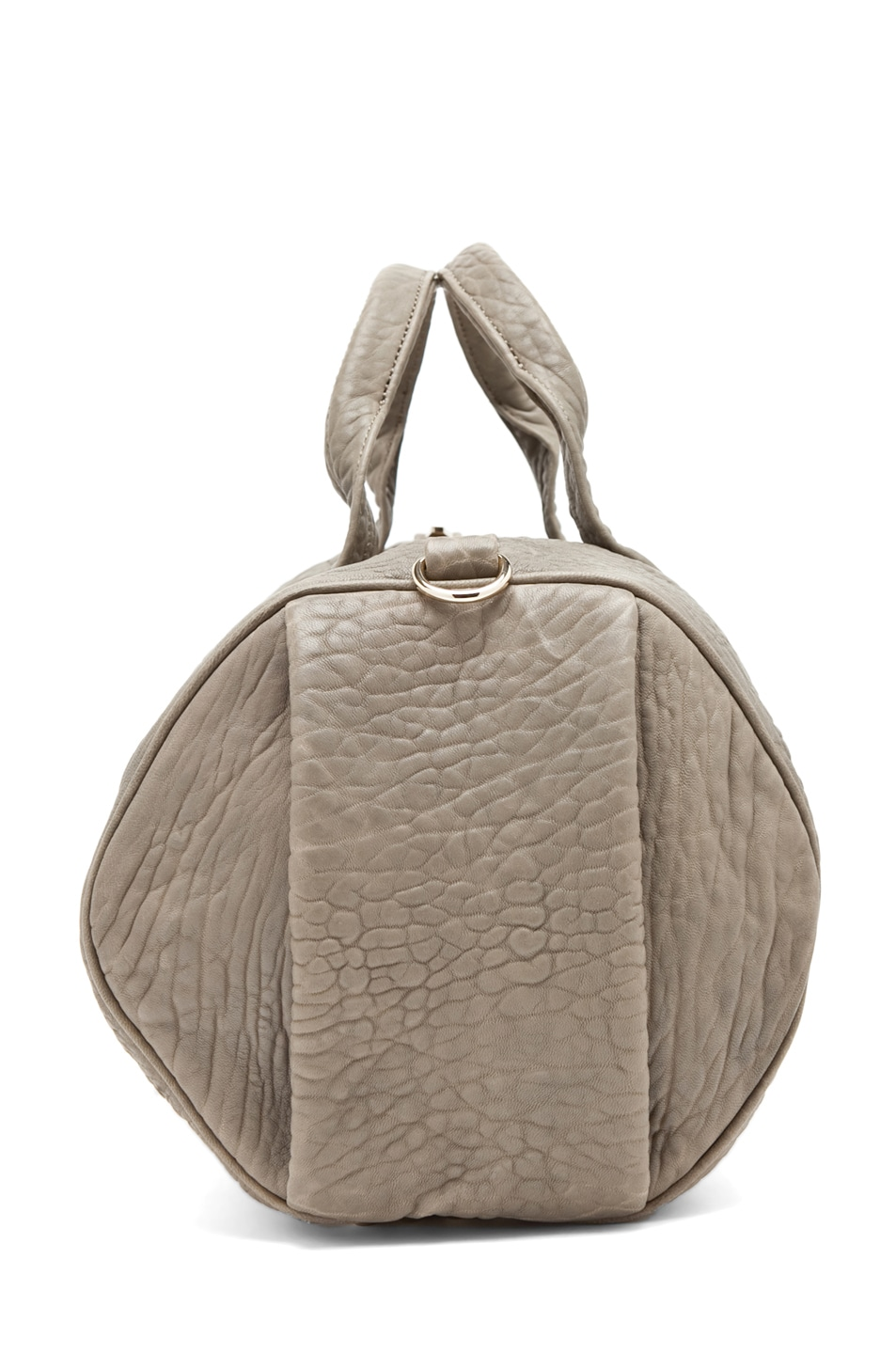 Image 6 of Alexander Wang Rocco Satchel in Granite