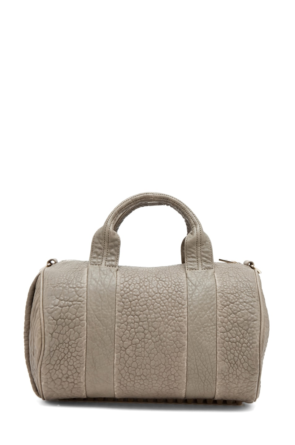 Image 7 of Alexander Wang Rocco Satchel in Granite