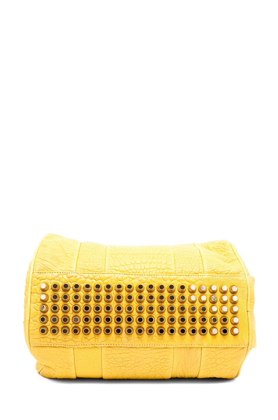 Image 2 of Alexander Wang Rocco Satchel in Citrus