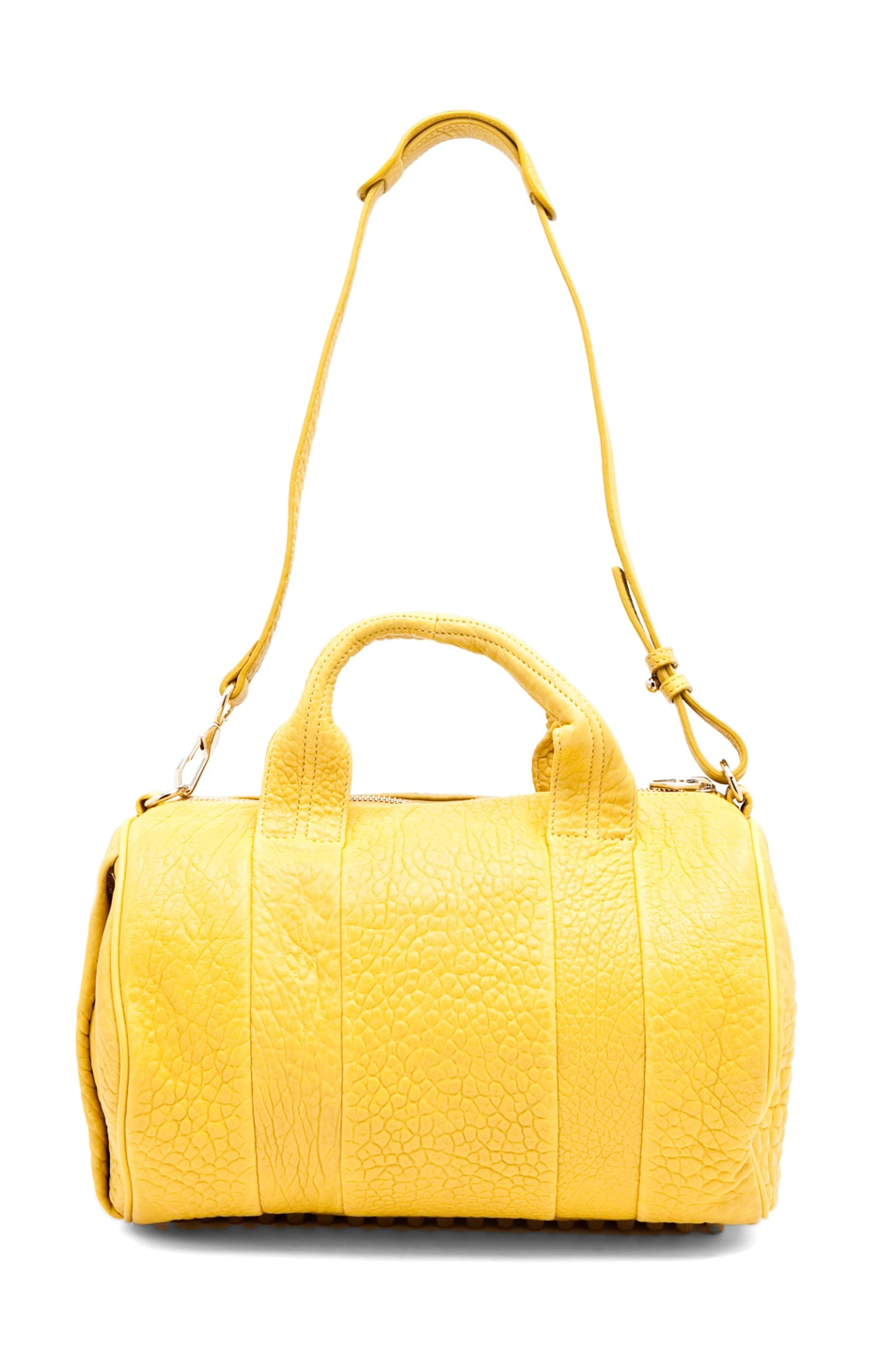 Image 4 of Alexander Wang Rocco Satchel in Citrus