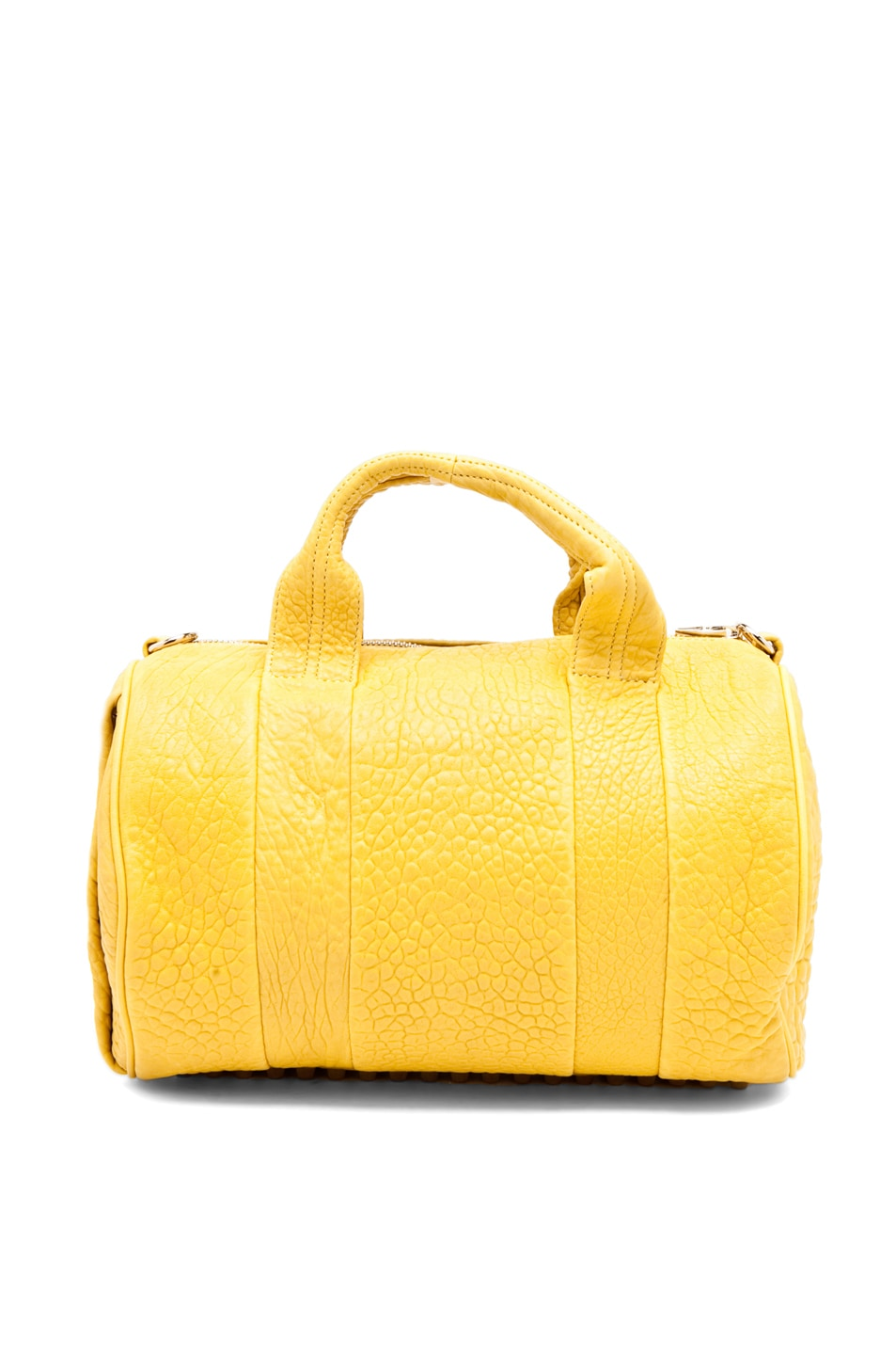 Image 5 of Alexander Wang Rocco Satchel in Citrus