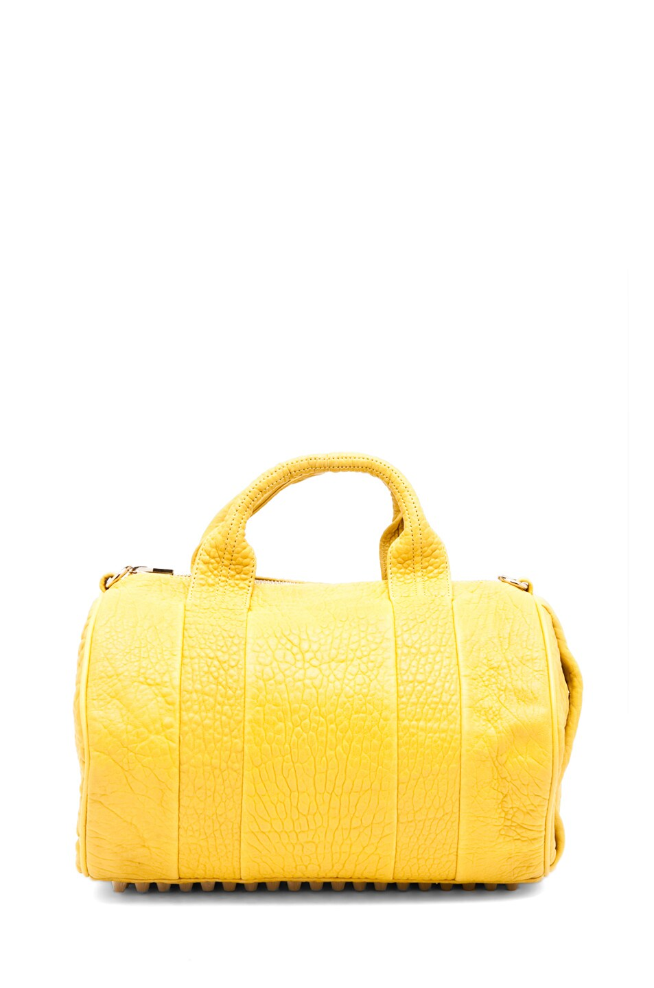 Image 7 of Alexander Wang Rocco Satchel in Citrus