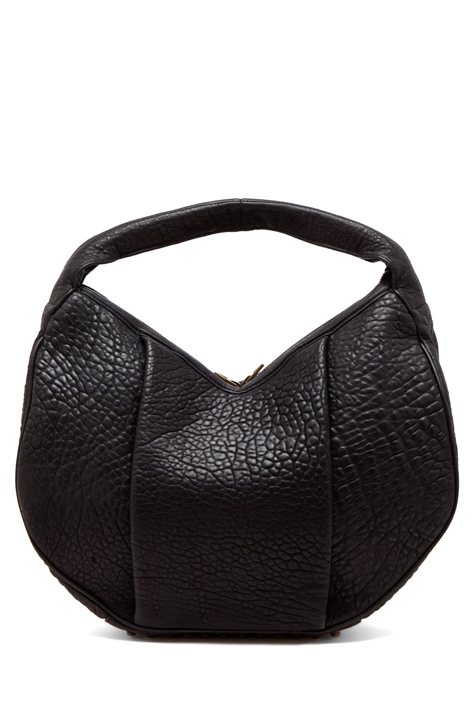 Image 1 of Alexander Wang Morgan Hobo in Black