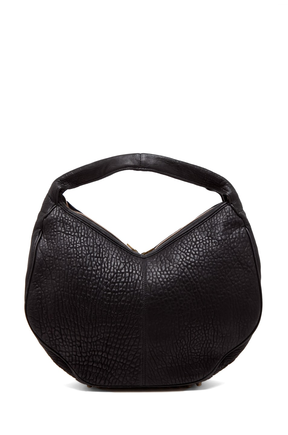 Image 3 of Alexander Wang Morgan Hobo in Black