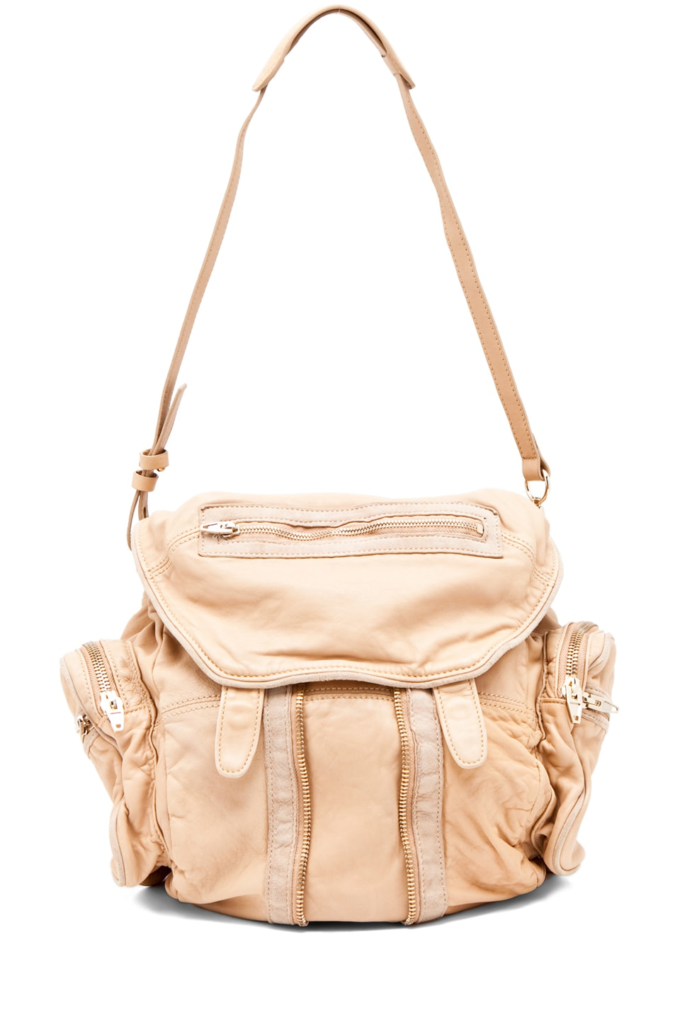 Image 6 of Alexander Wang Marti Backpack in Toffee