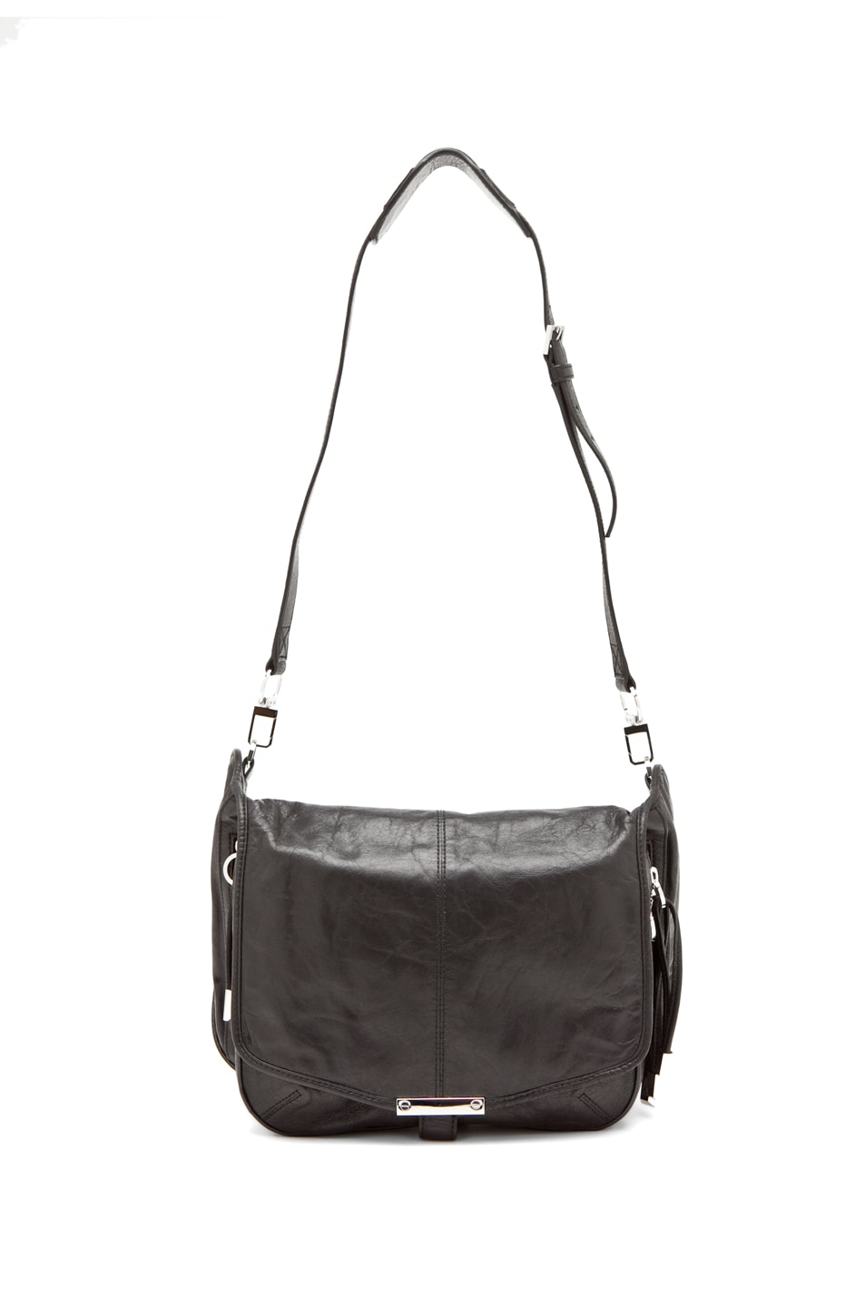Image 1 of Alexander Wang Iris Cross Body in Black