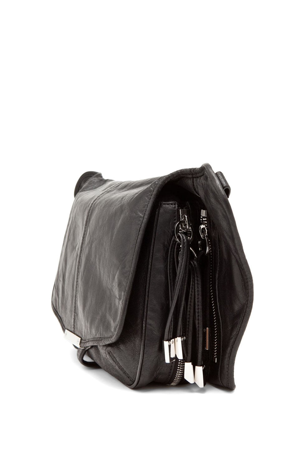Image 4 of Alexander Wang Iris Cross Body in Black